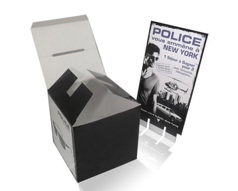 Urne carton